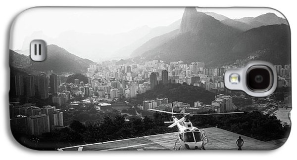Helicopter Galaxy S4 Case - Rio by Marco Virgone