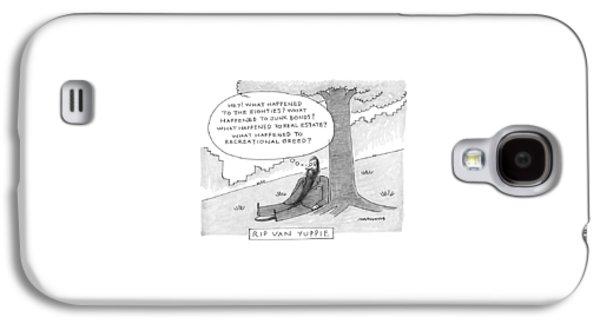 Rip Van Yuppie Galaxy S4 Case by Mick Stevens