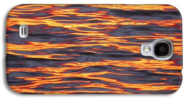 Ripple Affect Galaxy S4 Case by Karen Wiles