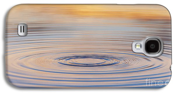Ripples On A Still Pond Galaxy S4 Case by Tim Gainey