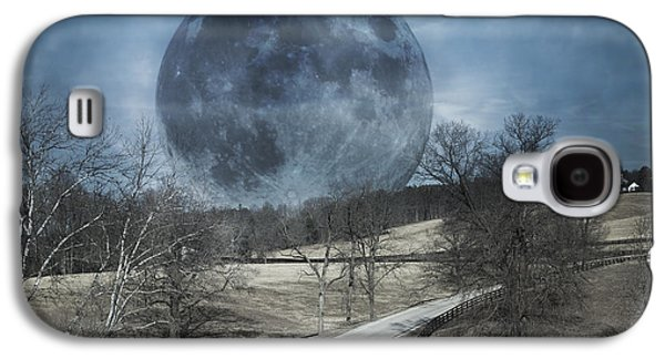 Rising To The Moon Galaxy S4 Case by Betsy Knapp