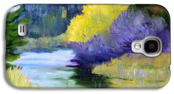 River Color Galaxy S4 Case