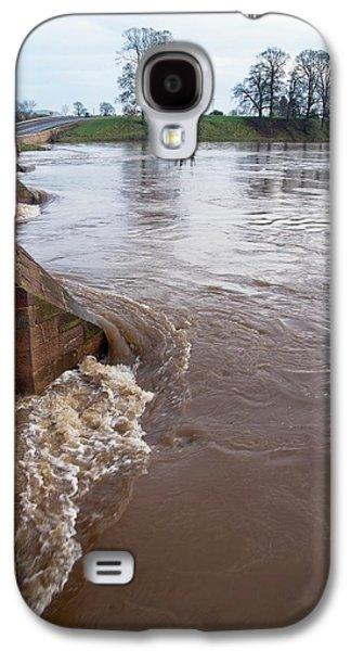 River Eden Flooding. Galaxy S4 Case