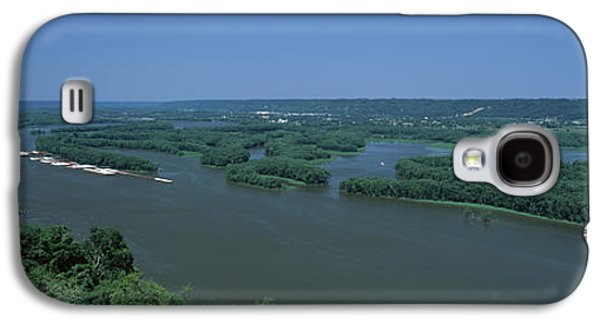 Marquette Galaxy S4 Case - River Flowing Through A Landscape by Panoramic Images