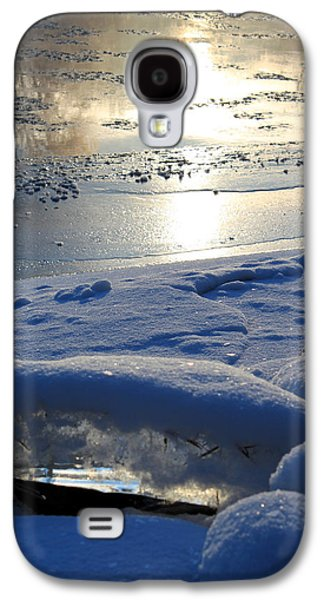 River Ice Galaxy S4 Case by Hanne Lore Koehler