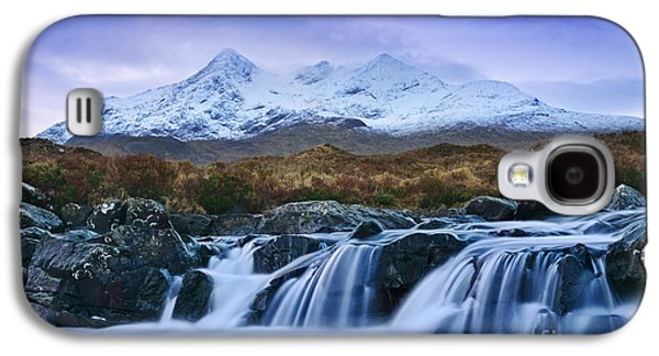 Waterfall And The Cuillins Galaxy S4 Case by Rod McLean