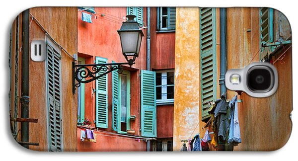 Riviera Alley Galaxy S4 Case by Inge Johnsson