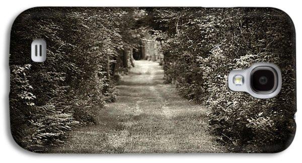 Road Through Forest Galaxy S4 Case by Elena Elisseeva