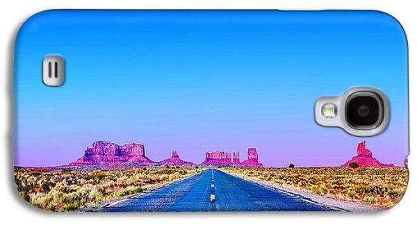 Road To Ruin 2 Galaxy S4 Case by Az Jackson