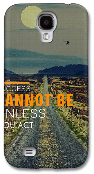 Road To Success Galaxy S4 Case by Celestial Images