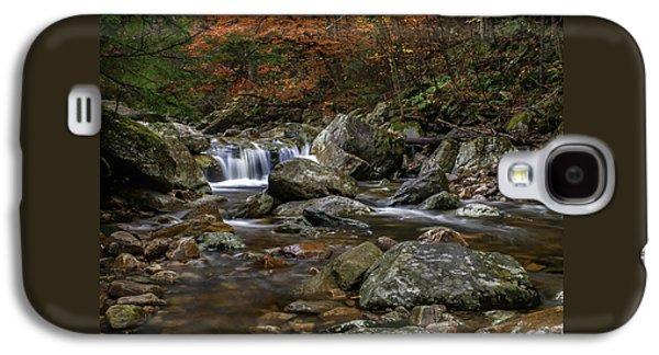 Roaring Brook - Sunderland Vermont Autumn Scene  Galaxy S4 Case by Thomas Schoeller