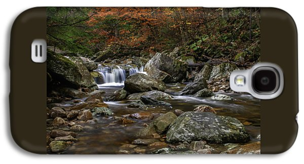Roaring Brook - Sunderland Vermont Autumn Scene  Galaxy S4 Case
