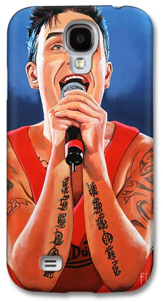Robbie Williams Painting Galaxy S4 Case