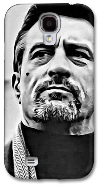 Robert De Niro Portrait Galaxy S4 Case by Florian Rodarte