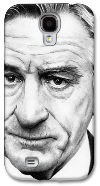 Robert De Niro Galaxy S4 Case by Rick Fortson