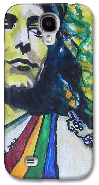 Robert Plant.. Led Zeppelin Galaxy S4 Case by Chrisann Ellis