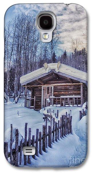 Robert Service Cabin Winter Idyll Galaxy S4 Case