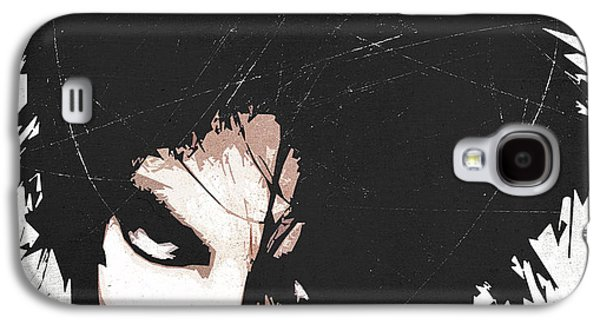 Robert Smith Music Galaxy S4 Case - Robert Smith by Filippo B