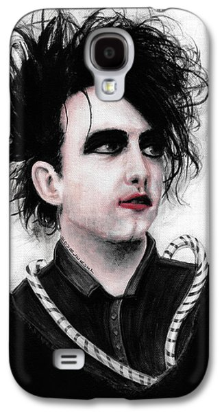 Robert Smith Music Galaxy S4 Case - Robert Smith Vi by Rouble Rust