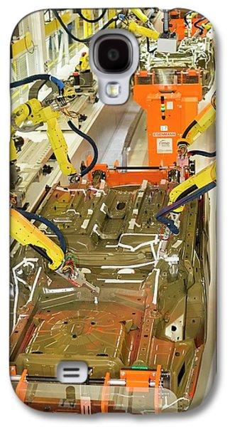 Robotic Car Production Line Galaxy S4 Case by Jim West