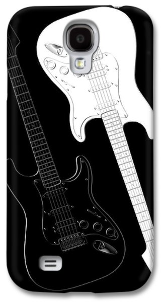 Rock And Roll Yin Yang Galaxy S4 Case by Mike McGlothlen
