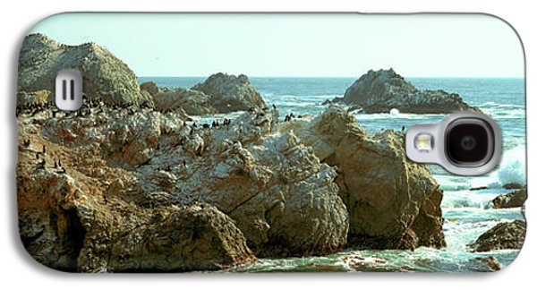 Rock Formations At A Coast, Bird Rock Galaxy S4 Case