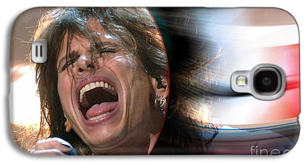 Rock N Roll Steven Tyler Galaxy S4 Case