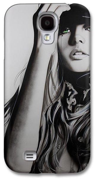 Portrait - ' Rock Police II ' Galaxy S4 Case by Christian Chapman Art