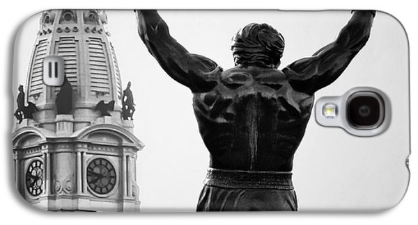 Rocky And Philadelphia Galaxy S4 Case by Bill Cannon