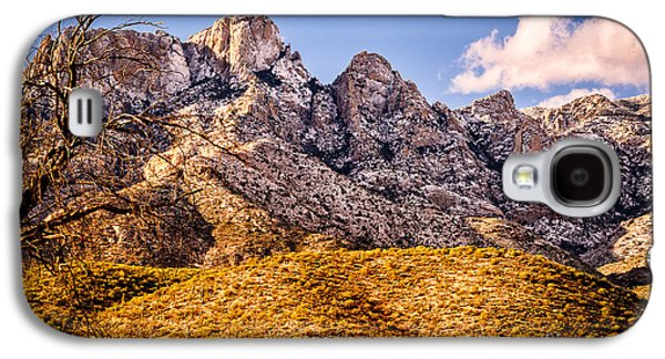 Galaxy S4 Case featuring the photograph Rocky Peaks by Mark Myhaver