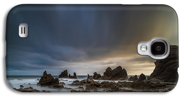 Rocky Southern California Beach 3 Galaxy S4 Case by Larry Marshall