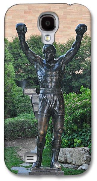 Rocky Statue - Philadelphia Galaxy S4 Case by Bill Cannon