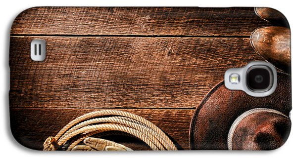 Rodeo Background Galaxy S4 Case