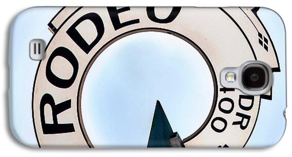 Rodeo Drive Sign Circagraph Galaxy S4 Case by Az Jackson