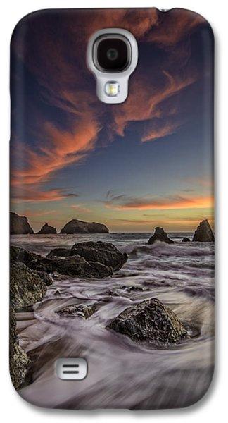 Rodeo Sunset Galaxy S4 Case by Rick Berk