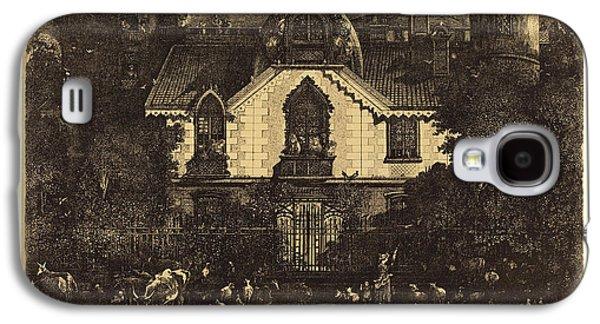 Rodolphe Bresdin French, 1822-1885, La Maison Enchantée Galaxy S4 Case by Litz Collection