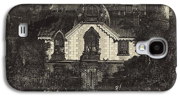 Rodolphe Bresdin French, 1822 - 1885, The Haunted House Galaxy S4 Case by Quint Lox