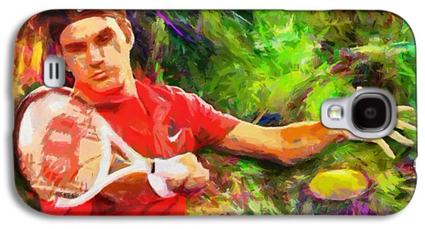 Tennis Galaxy S4 Case - Roger Federer by RochVanh