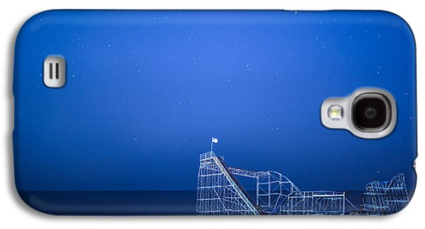 Roller Coaster Stars Galaxy S4 Case by Michael Ver Sprill