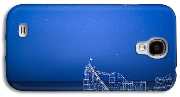 Roller Coaster Stars Galaxy S4 Case by Michael Ver Sprill