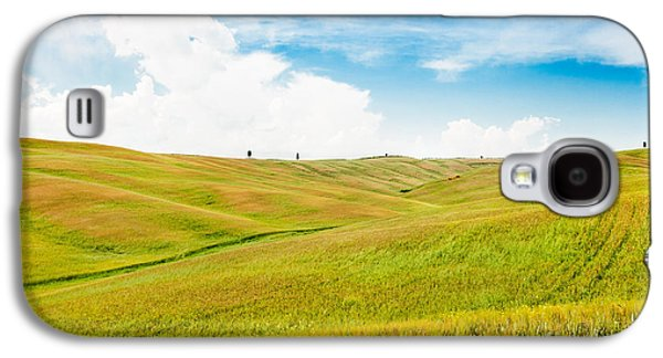 Rolling Hills In Tuscany Galaxy S4 Case by JR Photography