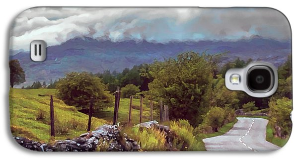 Rolling Storm Clouds Down Cumbrian Hills Galaxy S4 Case