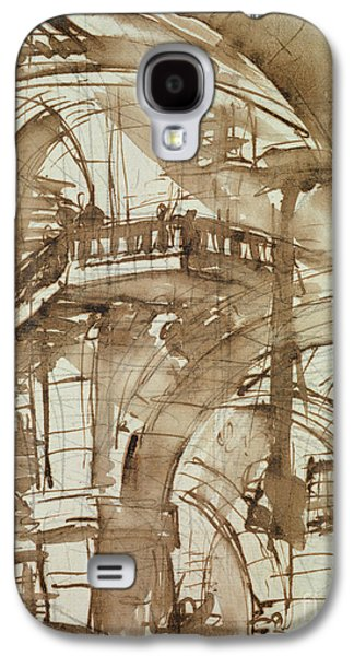Roman Prison Galaxy S4 Case by Giovanni Battista Piranesi