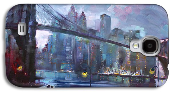 Romance By East River II Galaxy S4 Case