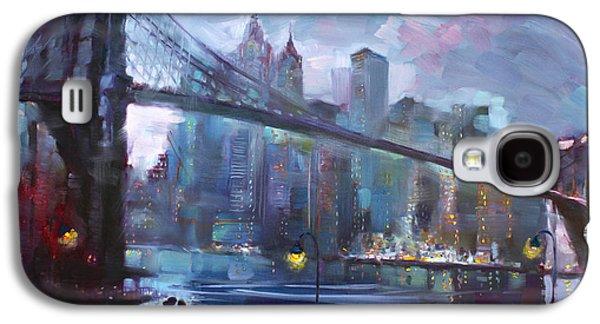 Bridges Galaxy S4 Case - Romance By East River II by Ylli Haruni
