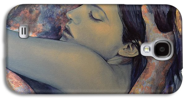 Romance With A Chimera Galaxy S4 Case by Dorina  Costras
