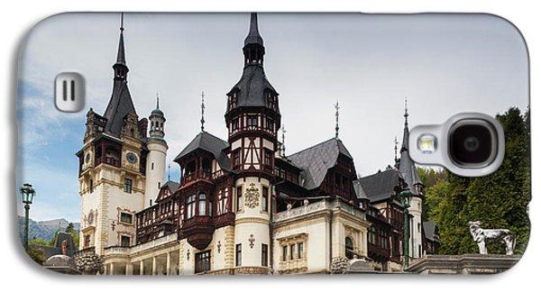 Romania, Transylvania, Sinaia, Peles Galaxy S4 Case