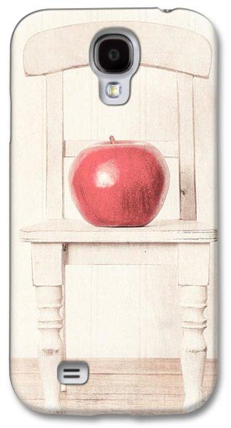 Romantic Apple Still Life Galaxy S4 Case by Edward Fielding