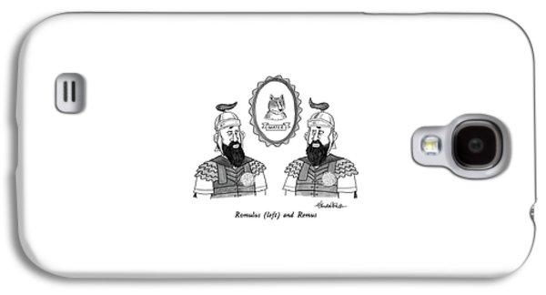 Romulus Galaxy S4 Case by J.B. Handelsman