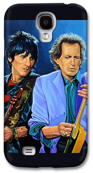 Ron Wood And Keith Richards Galaxy S4 Case